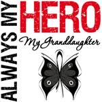Melanoma Always My Hero My GranddaughterT-Shirts