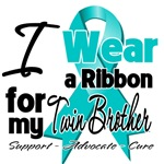 Teal Ribbon Support Shirts and Gifts