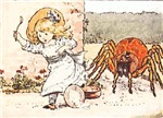 Little Miss Muffet, No. 2