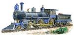 Vintage 1894 Locomotive