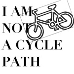 I am not a cycle path