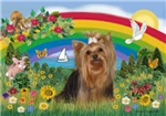 RAINBOW BRIGHT<br>With Yorkshire Terrier (#7)