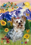 MOUNTAIN COUNTRY<br>With Yorkshire Terrier (#13)