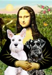 MONA LISA<br>Two Schnauzers