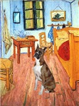 ROOM AT ARLES<br>& Brindle Boxer (crp)