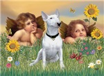 ANGELS<br>& White Bull Terrier