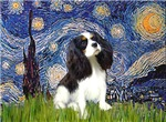 STARRY NIGHT<br>& Cavalier King Charles Spaniel