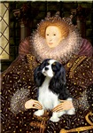 QUEEN ELIZABETH I<br>& Cavalier King Charles
