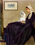 WHISTLER'S MOTHER<br>& Havanese