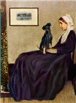 WHISTLER'S MOTHER<br>& Miniature Pinscher