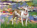 LILIES<br> & Pit Bull