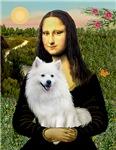 MONA LISA<br> & American Eskimo Dog