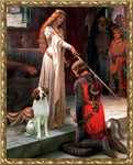 THE ACCOLADE<br>& Brittany Spaniel