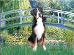 LILY POND BRIDGE<br>Greater Swiss Mountain Dog