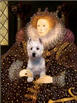 QUEEN ELIZABETH I<br>& West Highland Terrier