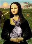 MONA LISA<br>& American Hairless Terrier