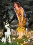 MIDSUMMER'S EVE<br>& Siberian Husky