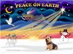 CHRISTMAS SUNRISE<br>& Norwich Terrier