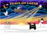 CHRISTMAS SUNRISE<br>& Chinese Crested