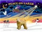 CHRISTMAS SUNRISE<br>& Wheaten Terrier