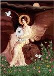SEATED ANGEL<br>&Eskimo Spitz #1