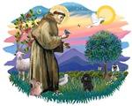 St. Francis #2 &<br>PoodleBlack (Toy.Min)