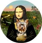 Yorkshire Terrier #17<br>& Mona Lisa