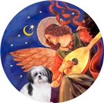 Shih Tzu (A2)<br>Angel With Mandolin