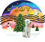 CHRISTMAS MUSIC #2<br>Bedlington Terrier