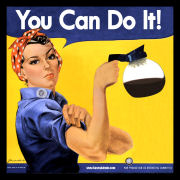 Rosie the Riveter says