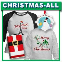 Christmas T-shirts, Gifts, Apparel
