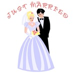 Tied Knot Bride Groom Tshirts & Gifts