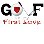 First Love Golf Tees, Golf Apparel and Gifts