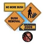 No More George Bush T-shirts, Totes, Tees