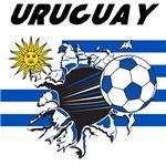 Uruguay Soccer Futbol T-shirts, Merchandise
