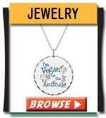 Vegan Jewelry - Earrings, Necklace, Bracelets