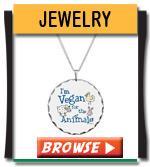 Vegan Jewelry - Earrings, Necklace, Bracelets
