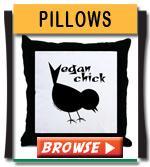 Vegan Pillows Home Decor Accents