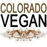 Colorado Vegan Tee Shirts, Totes, Mugs