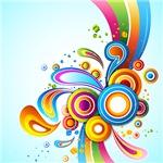 Retro Swirls and Twirls Decor and Gifts