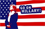 Go On Hillary!