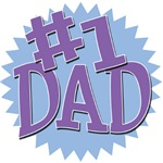 Number 1 Dad Father's Day T-Shirts & Gifts