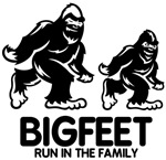 Big Feet Run in the Family