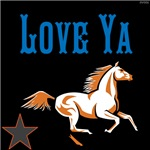 OYOOS Horse Love Ya design