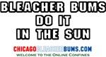 Bleacher Bums Do It In The Sun