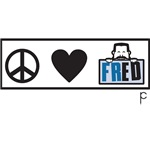 Peace, Love, Fred