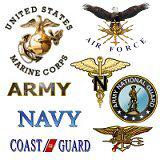 <b>Military Emblem/Insignia Tees/tshirts/gifts</b>