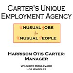 Carter's Unique Employment Agency Gale Gordon Theo