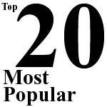 Top 20 Most Popular