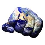 Mohammed Ali Left Earth Fist Eastern Hemisphere